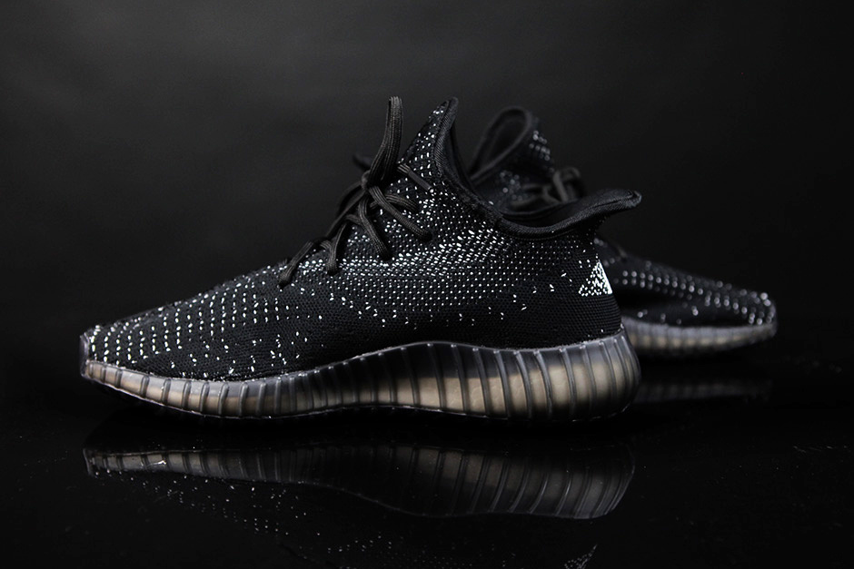 best service ad70a 1dc1a ADIDAS YEEZY BOOST 550 BLACK/WHITE // FIRST LOOK - RMF Magazine