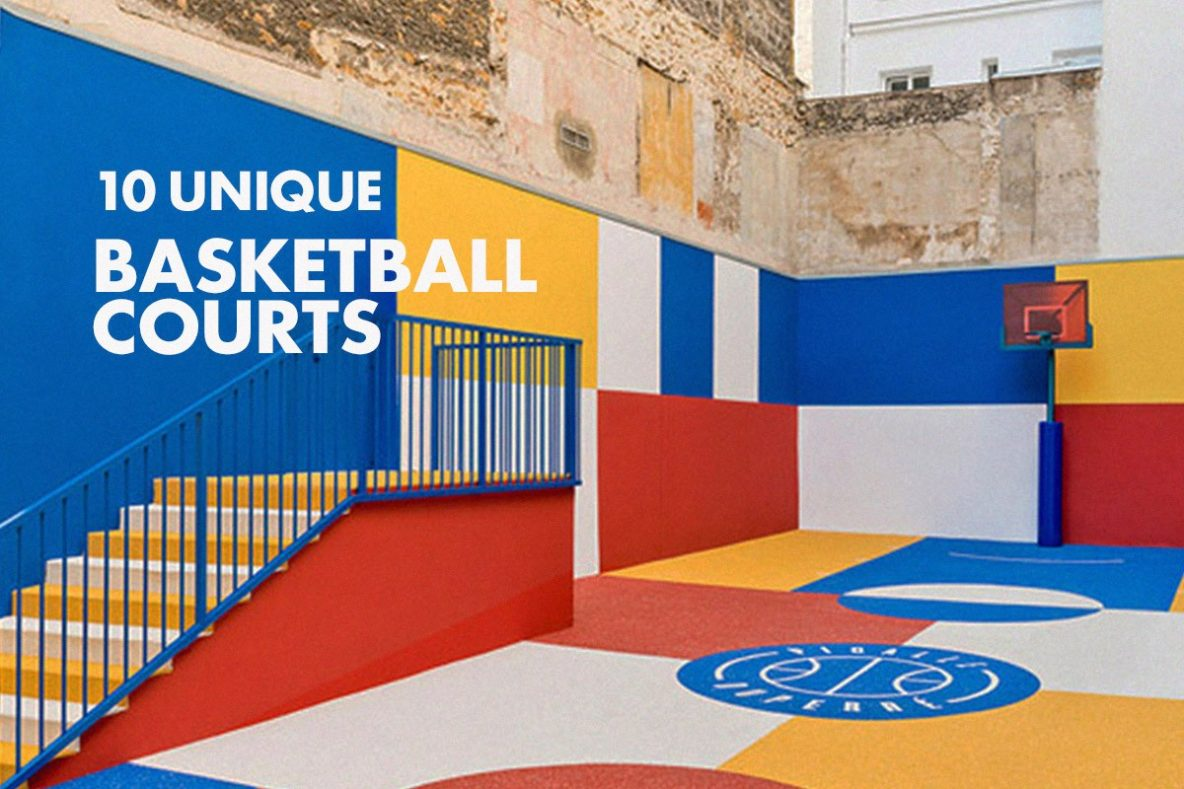 10 of the Most Unique Basketball Courts Around the World