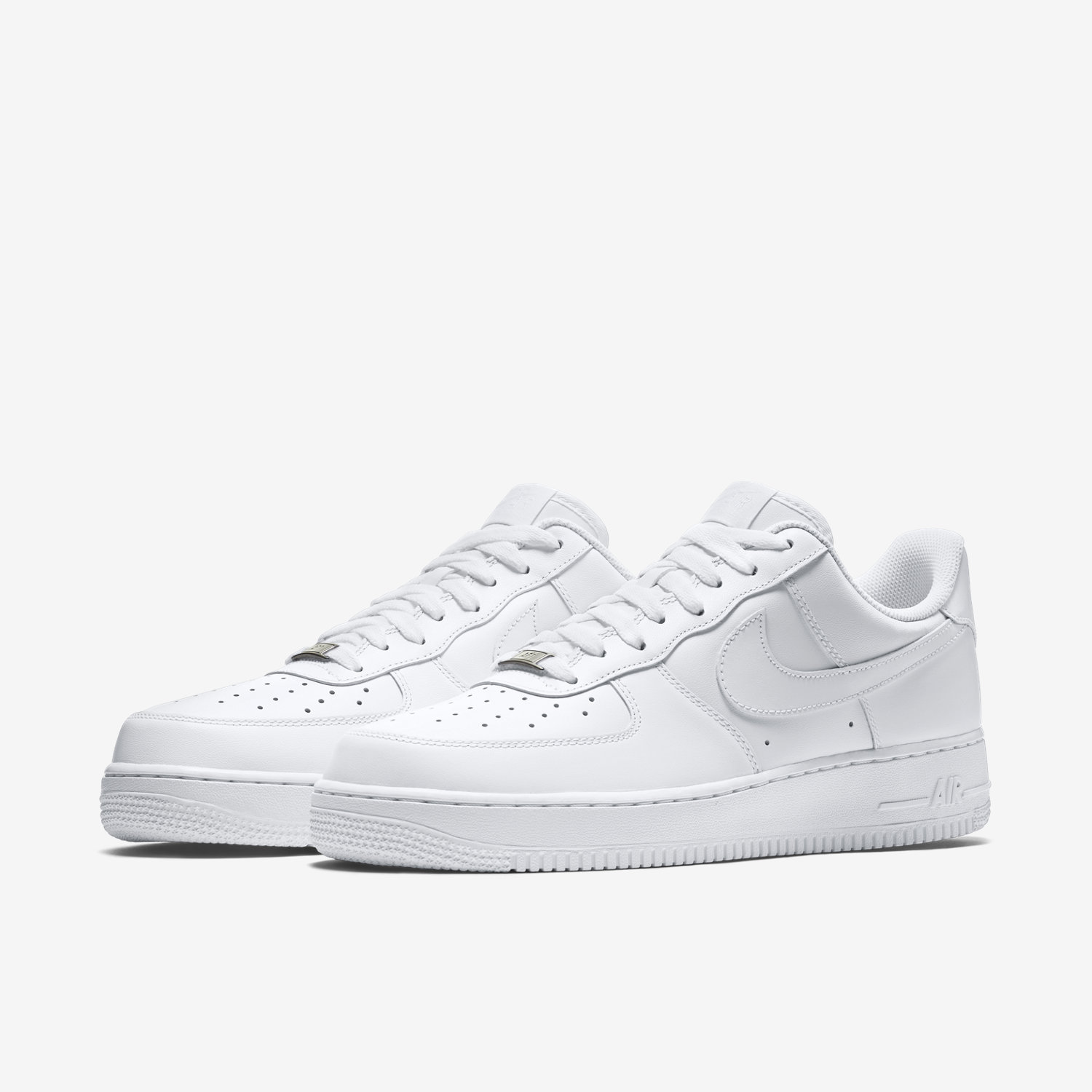 nike air force 1 mens white low
